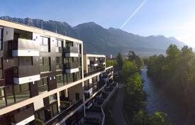 Property for sale in Tyrol. Modern apartment with a terrace, with spectacular views of the mountains and the park, in the new house, Innsbruck, Austria
