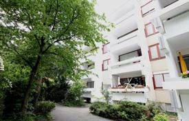 2 bedroom apartments for sale in Munich. Furnished apartment with a loggia, in a residence with a garden, in the district of Maxvorstadt, Munich, Germany. High rental potential!