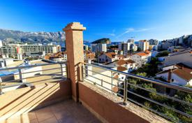 3 bedroom apartments by the sea for sale in Montenegro. Duplex with a great view on the sea located in Budva