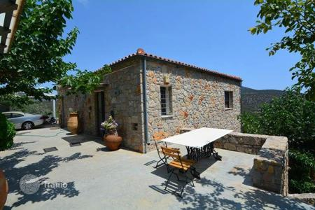 Residential for sale in Epidavros. Sea view villa of natural stone with garden, in Peloponnese, Greece
