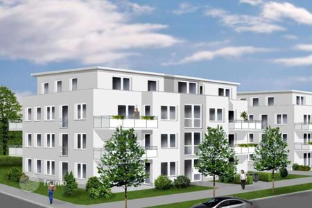 New homes for sale in Dortmund. Modern apartment with a terrace in a new building in Dortmund