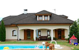 Property for sale in South Bohemian Region. Two-level house with a swimming pool and a garage in Třeboň, Czech Republic