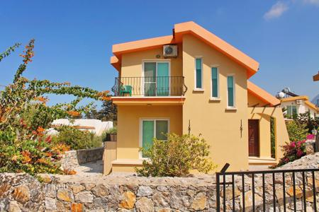 Coastal houses for sale in Cyprus. Comfortable, new house in Karelia on the Mediterranean coast