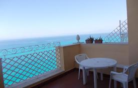 Apartments for sale in Italy. Furnished apartment with a terrace and panoramic views in a historic building in the heart of Tropea, on the sea front