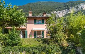 2 bedroom houses for sale in Italian Lakes. Two-storey villa with a terrace, a swimming pool, a garden and a beautiful view of Como Lake, Mezzegra, Lombardy, Italy