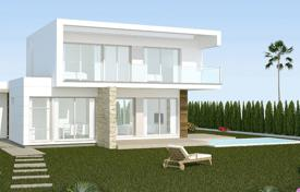 Houses for sale in Mil Palmeras. Two-level villas in a new complex in Mil Palmeras, Alicante, Spain