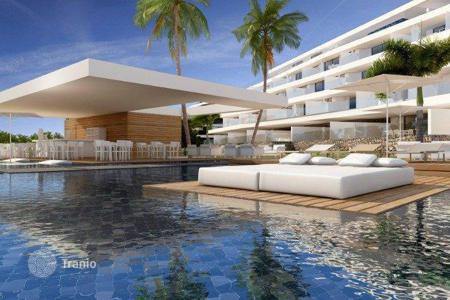 New home from developers for sale overseas. Apartment of all types in a modern residential complex in La Caleta in Tenerife