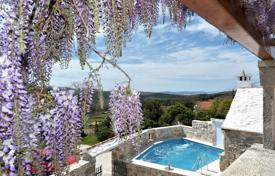 Property for sale in Split-Dalmatia County. Furnished villa with a private garden, a pool and terraces, Brac, Croatia