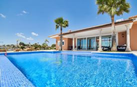 Luxury villas and houses with pools for sale in Costa Blanca. Neoclassical villa with a swimming pool, an elevator, a gym and a sauna in a prestigious area, Moraira, Spain