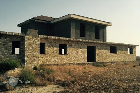 Luxury property for sale in Mazotos. Seven Bedroom Detached Villa with Sea View — UNFINISHED