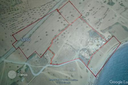 Land for sale in Mazotos. Beach Front Building Plots for sale