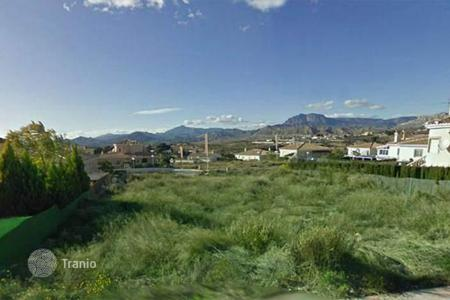 Cheap land for sale in Busot. 500 m² plots in Bussot