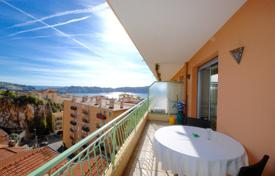 Cheap 1 bedroom apartments for sale in Côte d'Azur (French Riviera). Cozy seaview apartment with a terrace and a parking space, within walking distance from the port, Villefranche-sur-Mer, France