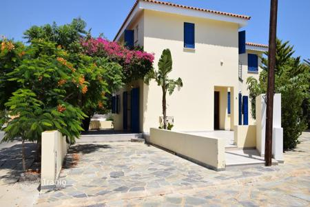 4 bedroom houses by the sea for sale in Protaras. Four Bedroom Sea Front Villa with Title Deed in Agia Triada