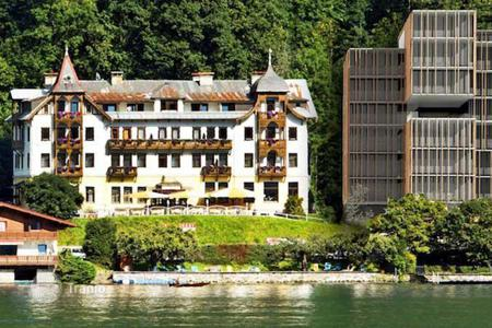 Residential for sale in Austrian Alps. Luxury apartments on the shore of the lake in Zell-am-See