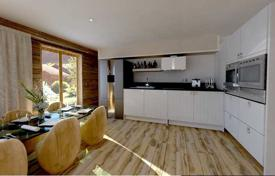 Cheap new homes for sale in Auvergne-Rhône-Alpes. Apartment with 3 bedrooms in a new residential complex in the ski resort of Morzine, Haute-Savoie, France