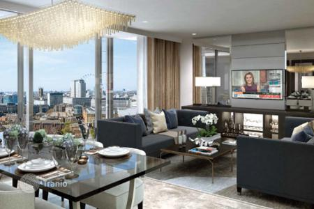 Luxury 1 bedroom apartments for sale in Europe. Luxury apartments on the waterfront of the River Thames in London
