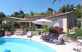 4 bedroom houses for sale in Nice. A 5 room villa with 4 bedrooms in Nice Bellet with panoramic view and pool