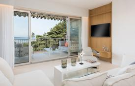 Residential for sale in France. Four-room apartment with a terrace in a gated residence with a park, a pool and a tennis court, Cannes, French Riviera, France