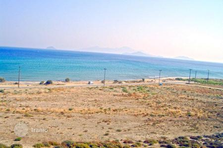 Coastal development land for sale in Kos. Beachfront area of 40.000sqm, ideal for tourist development, is for sale