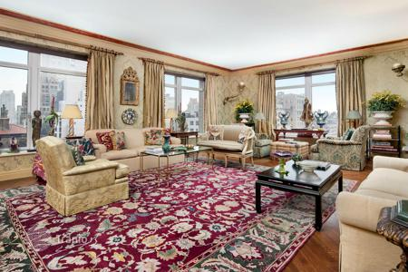 4 bedroom apartments for sale in North America. Magnificent apartments with views of the Park Avenue