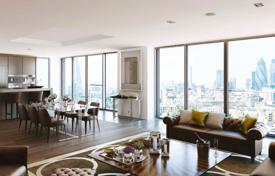 Luxury residential for sale in London. Five-room apartment with a terrace in a new residential complex, London, UK