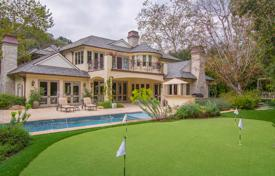 French Colonial Style Villa — Los Angeles — 6 Bedrooms — 7 Bathrooms for 17,700 $ per week