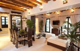 Luxury residential for sale in Ibiza. Furnished villa with a garden, a swimming pool, a gym and a forest view, Ibiza, Spain