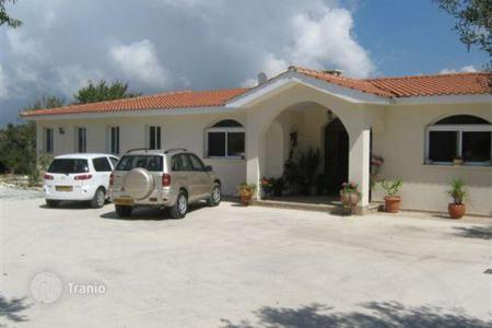 Property for sale in Tsada. Detached Villa with attached bungalow, Private Pool and Olive Grove