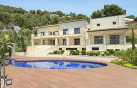 New villa with a beautiful garden, a wellness area and picturesque views of the mountains and the golf course, Son Vida, Mallorca, Spain for 4,950,000 €