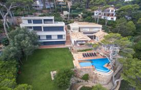 Houses for sale in Sa Riera. Unique villa with a pool and terraces, on the first line from the sea, Sa Riera, Spain
