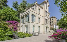 Luxury 5 bedroom houses for sale in Barcelona. Historical villa in Art Nouveau style, with a dome and a picturesque garden, Barcelona, Spain