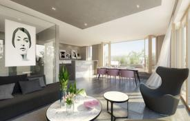 New homes for sale in Praha 10. Four-room apartment with a balcony and a parking in a new building, Prague, Czech Republic