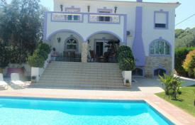 5 bedroom houses by the sea for sale in Attica. Spacious villa with a garden, a pool and sea views, near the beach, Alepochori, Attica, Greece