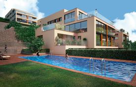 Apartments for sale in Alella. New apartments with panoramic views, in a residence with pools and a gym, near the center of Alella, Spain