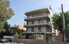 3 bedroom apartments for sale in Voula. Two-level penthouse with a sea view and a terrace with a barbecue area, in the prestigious district of Voula, Athens, Greece