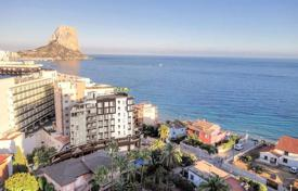 Cheap residential for sale in Calpe. 1, 2 and 3 bedroom apartments with terrace with panoramic sea views 50 metres to the beach in Calpe
