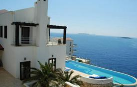 Villa with a large infinity swimming pool on the seafront in the Cukurbag Peninsula, Kas, Antalya for 1,841,000 $