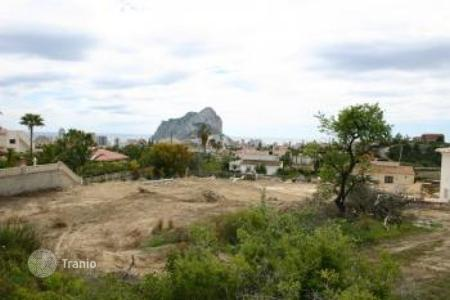 Land for sale in Calpe. Development land - Calpe, Valencia, Spain