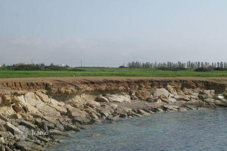 Coastal land for sale in Paphos. Beachfront Plot of Land — Fantastic Investment Opportunity — SEA CAVES