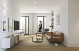New homes for sale in Barcelona. New two-level apartment with a garden in Eixample Esquerra, Barcelona, Spain