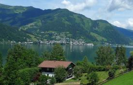 Luxury chalets for sale in Alps. Five-bedroom chalet near the lake for renting or living, Zell am See,