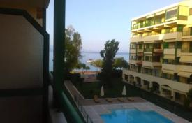Modern apartment in a complex with a swimming pool and garden, just 20 meters from the sea, Xylokastro, Peloponnese, Greece. Price on request