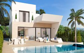 3 bedroom houses for sale in Valencia. Modern villa with panoramic sea views in Ciudad Quesada
