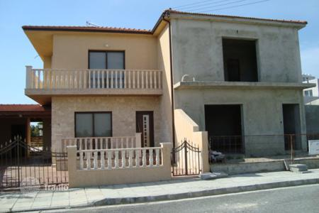 Townhouses for sale in Perivolia. Four Bedroom Semi Detached Unfinished House