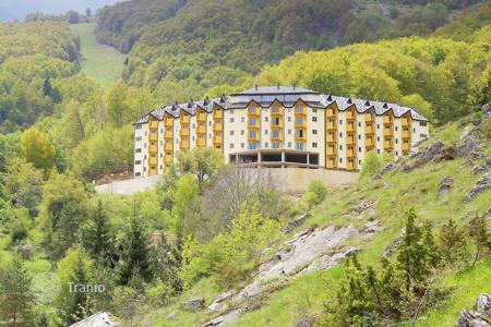 Cheap residential/rentals for sale overseas. New development in the resort Mavrovo with a possibility to aquire residency in Macedonia