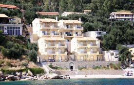 2 bedroom houses by the sea for sale in Corfu. CORFU. Beachfront house of 100sqm, on the beach and just 15km from Corfu town in a beautiful and quiet area is for sale. I