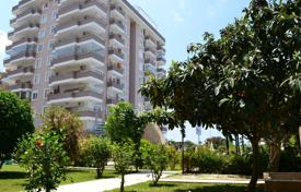 Apartments with pools by the sea for sale in Western Asia. Furnished apartment with 2 bedrooms, 2 balconies and sea views. The complex with private infrastructure, 100 m from the beach, Alanya, Turkey