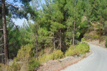 Land for sale in Pano Platres. Building Plot