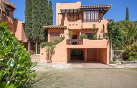 Spacious villa with a private garden, a pool, a terrace and a parking, Santa Ponsa, Spain for 1,490,000 €